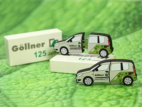 usb stick auto fahrzeug car kunststoff mobil werbung