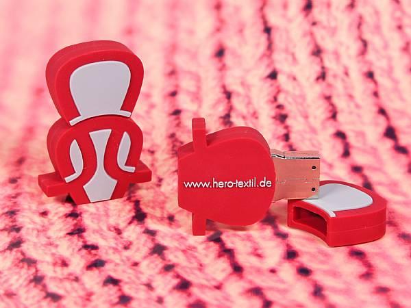 usb stick custom sonderform logo firma werbung