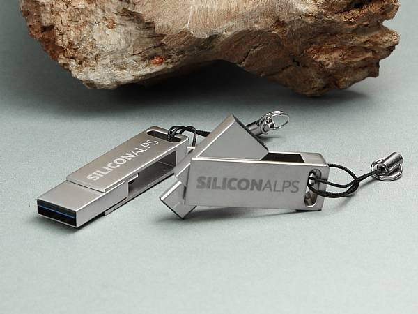 usb stick dual speed logo gravur werbung