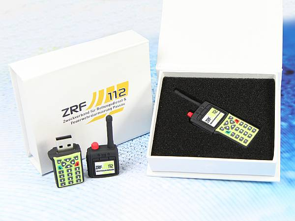 usb stick feuerwehr walkie talkie funkgerät ZRF
