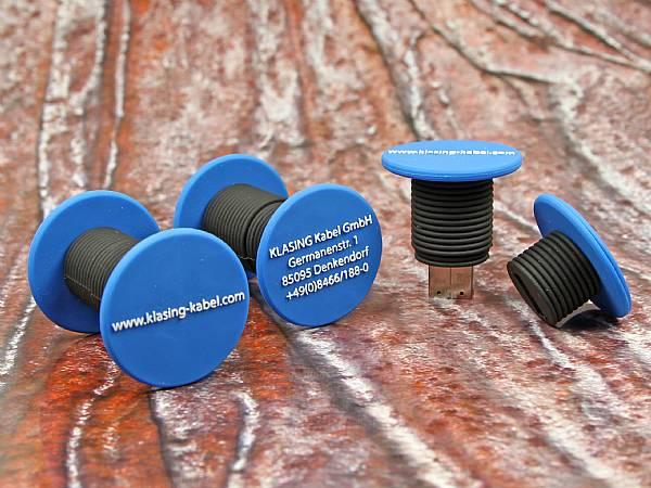 usb stick kabel kabeltrommel bau baustelle werbung