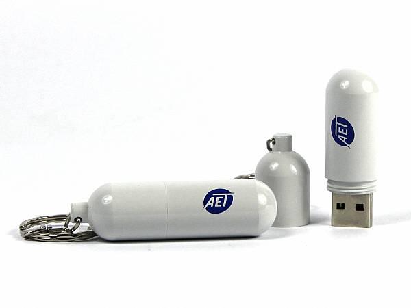 Metall USB-Stick in Form einer Kapsel