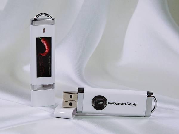 usb stick kunststoff edel flach digitaldruck logo