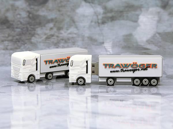 usb stick lkw transport verkehr truck werbung