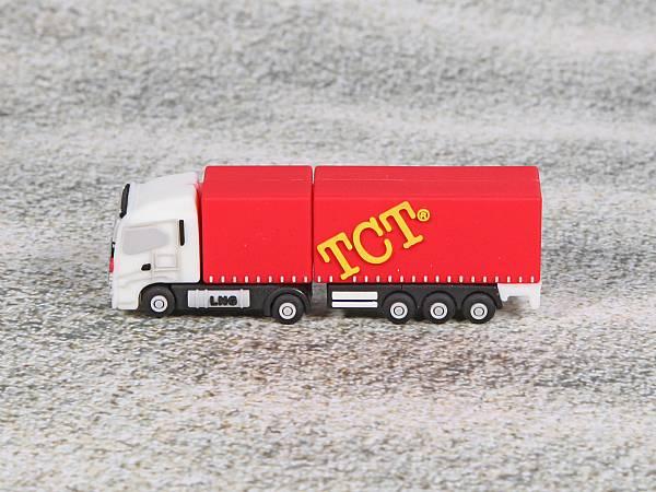 usb stick lkw truck sonderform logo werbung transport
