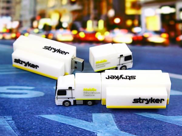 usb stick lkw truck verkehr transport logo werbung