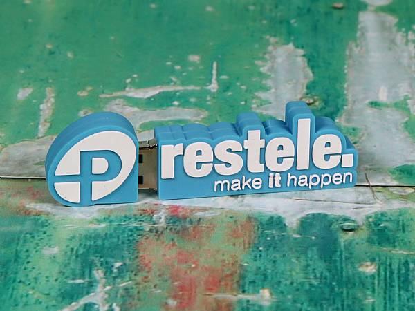 usb stick logo freiform logowerbung sonderanfertigung individuell