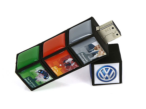 USB-Stick-Magic-Cube-VW, USB-Magic Cube, famous,