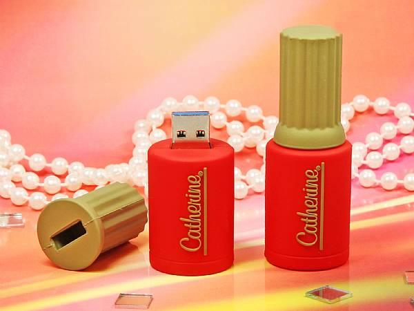 usb stick nagellack farbe kosmetik logo werbung