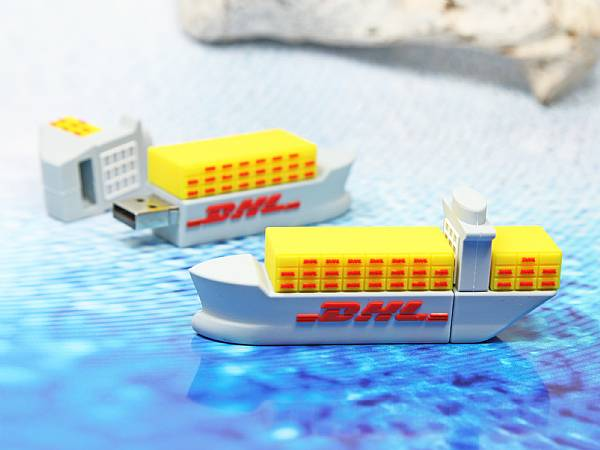 usb stick schiff boot container transport see dhl