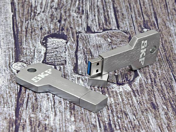usb stick schluessel key aluminium öse speed