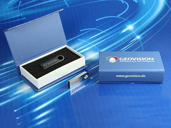 dongle verpackung mit aufdruck geschenkbox mit Logo magnet box USB-Stick