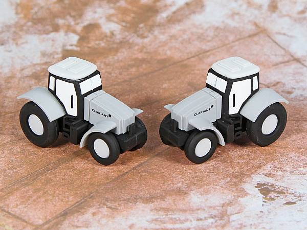 usb stick traktor landwirtschaft arbeit fahrzeug logo werbung