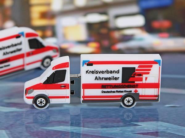 usb stick transit kastenwagen rettungsdienst notfall deutsches rotes kreuz