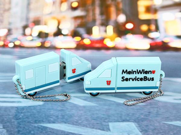 usb stick transporter bus individuell verkehr auto