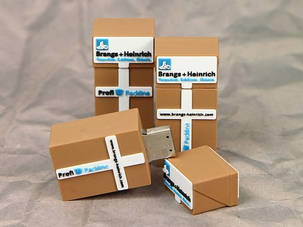 usb stick verpackung karton werbung