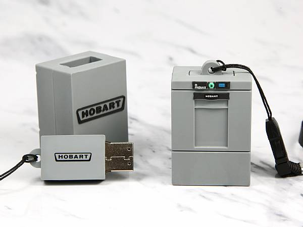 usb stick waschmaschine grau logo