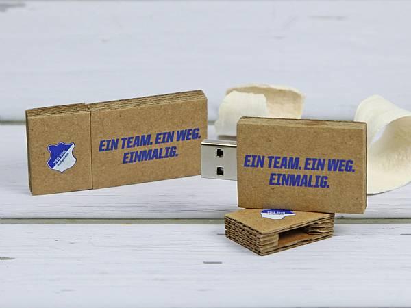 usb stick wellpappe natur karton papier werbegeschenk