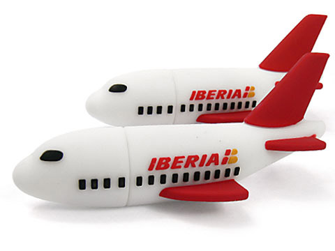 USB-Stick Airplane-01 Flugzeug individuell, transport, USB-Airplane.01