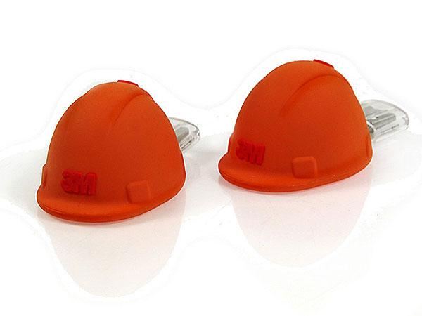 Helm, Arbeitshelm, Arbeiterhelm, orange, 3M, Baustelle, Bauhelm, Bauarbeiter, werkzeug, CustomProdukt, PVC