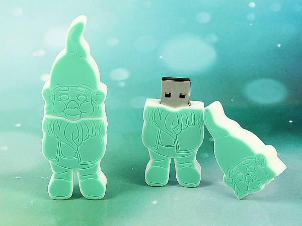 USB Stick Figur Zwerg Maskottchen universität sonderform