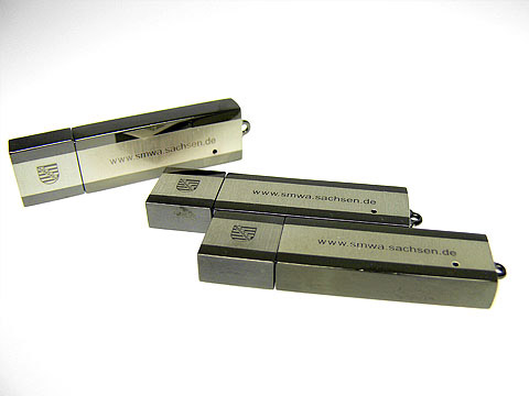 usb-stick gravur lasergravur smwa usb-stick, Metall.03