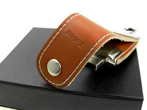 USB-Stick Leder BHW Bank, Leder.03