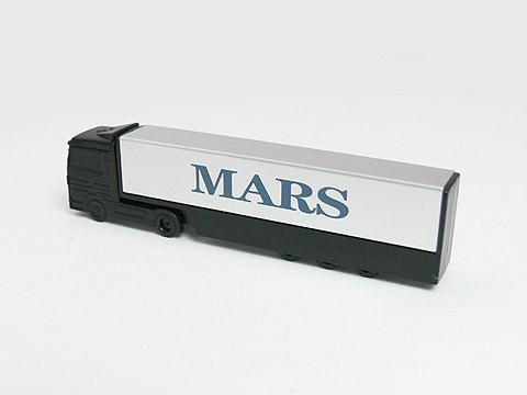 USB-Stick Truck schwarz Aufdruck Logo, USB-Truck