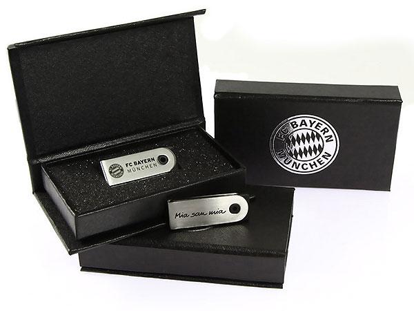 USB-Stick Verpackung FC Bayern, K02 Mini Magnetbox