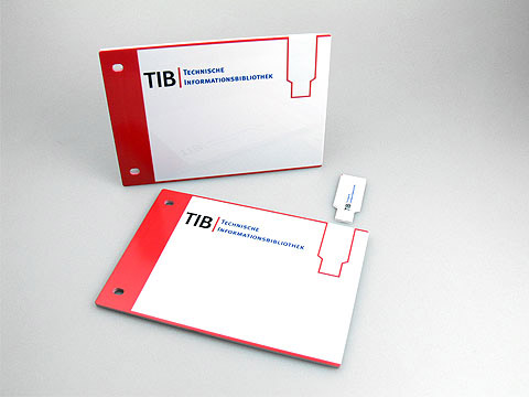 USBarchive kunststoff mit Bedruckung TIB, USB plastic Card