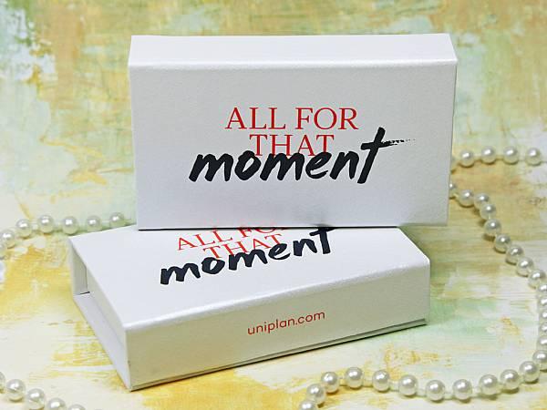 verpackung box geschenk weiss klappbox werbung logo