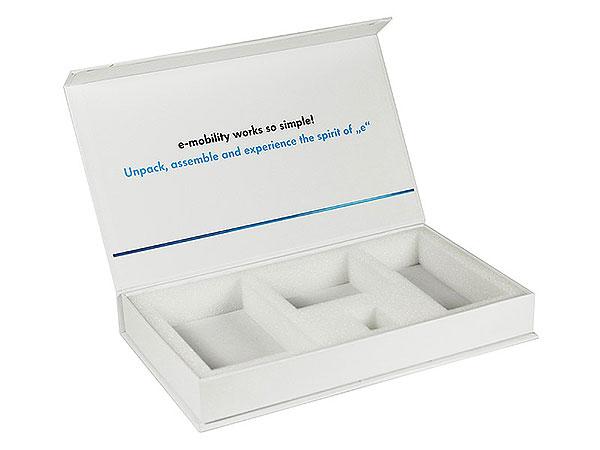 inlay, Individuelle Klappbox