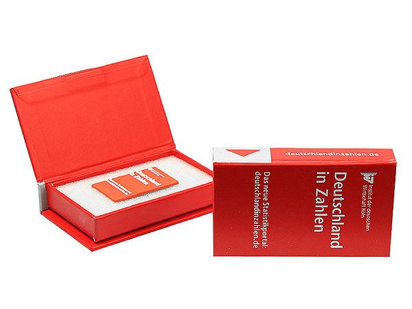 Klappbox, rot Digitaldruck buch deutschland
