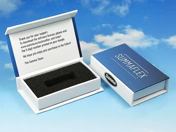 verpackung geschenkbox usb dongle software lizenz