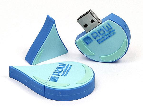usb-stick-logo-freiform-100.html, Logo, Wassertropfen, CustomLogo, PVC
