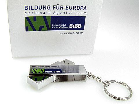 werbegeschenk verpackung passend aufdruck, Metall.05 usb