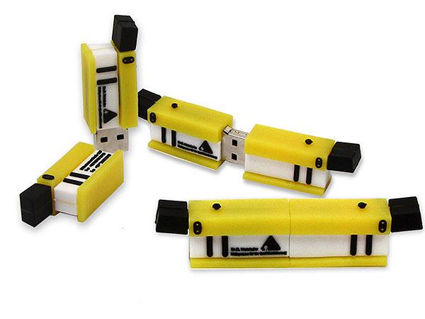 Werkzeug, Spezial Bauteil, Schienen, gelb, CustomProdukt, PVC
