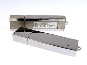 Edler USB Stick mit Gravur, edle Werbeidee