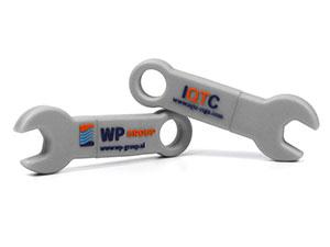 Custom USB-Stick in Schraubenschlüssel-Form