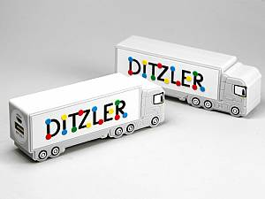 Creative Powerbank, Invidueller LKW Truck