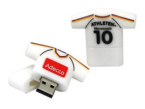 USB Kleidung, Bekleidung als USB-Stick,  T-Shirts, Trikots, Socken