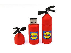 USB-Stick Feuerlöscher, individueller USB Stick custom