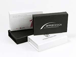 Verpackung mit Magnetverschluss, geeignet für USB-Sticks