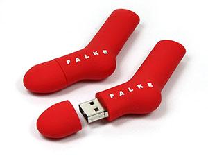 USB Stick Socken