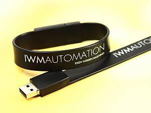 USB Armband, mit Logodruck, Webeartikel