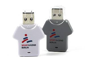 Fun USB-Stick in Trikotform, Kunststoff