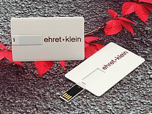 USB Visitenkarte aus Kunststoff, USB Scheckkarte mit Ihrem Logo bedruckt