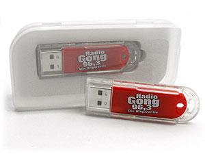 USB-Stick aus Kunststoff