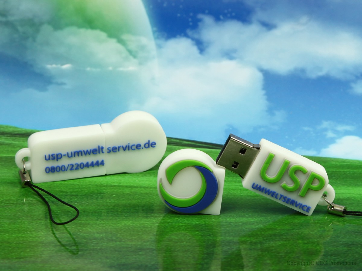 USB-Stick in Sonderform