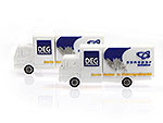 DEG Lastwagen LKW Elektrogroßhandel usb-stick, CustomModifizierbar, PVC